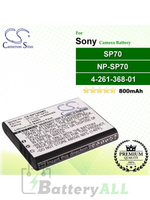 CS-SNT200MC For Sony Camera Battery Model 4-261-368-01 / NP-SP70 / SP70 / SP70A / SP70B