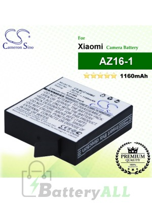CS-MUZ160MC For Xiaomi Camera Battery Model AZ16-1