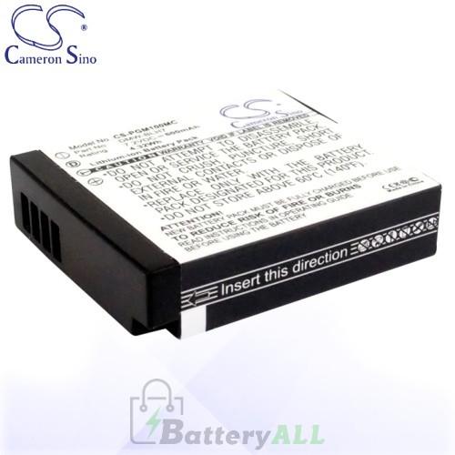 CS Battery for Panasonic DMW-BLH7 / DMW-BLH7E / DMW-BLH7PP Battery 600mah CA-PGM100MC
