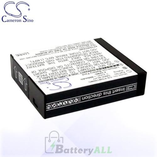 CS Battery for Panasonic Lumix DMC-GM1D / DMC-GM1K Battery 600mah CA-PGM100MC