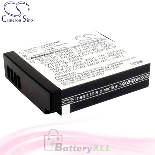 CS Battery for Panasonic Lumix DMC-GM1W / DMC-GM5 / DMC-GM1 Battery 600mah CA-PGM100MC