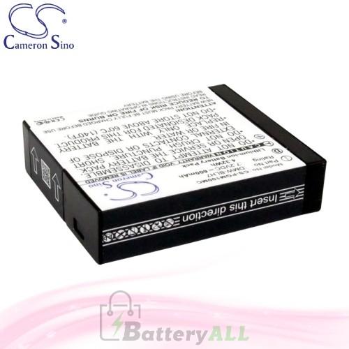 CS Battery for Panasonic Lumix DMC-GM5K / DMC-LX10 Battery 600mah CA-PGM100MC