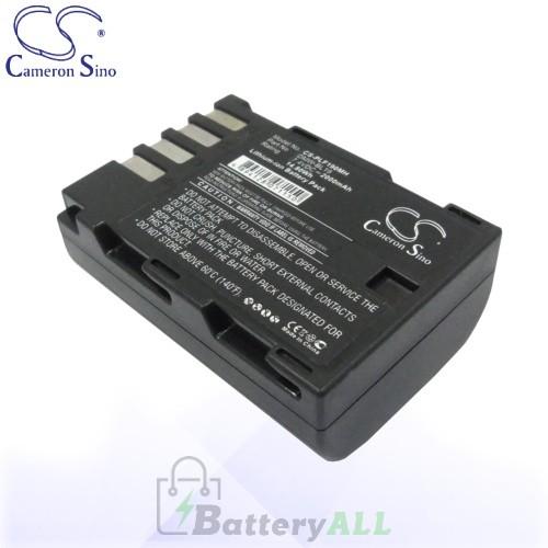 CS Battery for Panasonic DMW-BLF19E / DMW-BLF19PP Battery 2000mah CA-PLF190MH