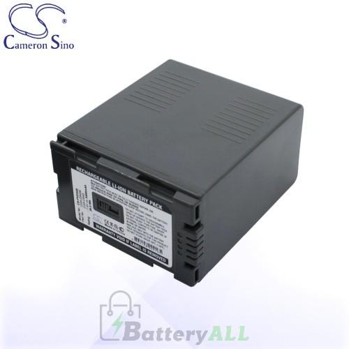 CS Battery for Panasonic CGA-D54S / CGA-D54SE/1H / CGP-D54S Battery 5400mah CA-PVD54S