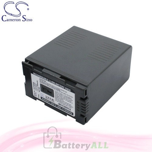 CS Battery for Panasonic AG-DVX100 / AG-DVX100A / AG-DVC80 Battery 5400mah CA-PVD54S