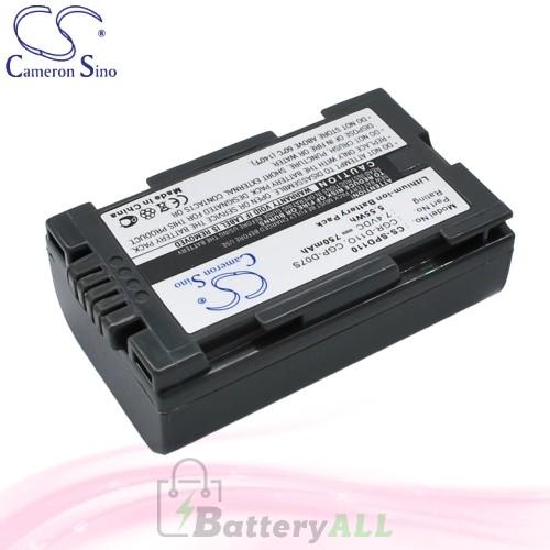 CS Battery for Panasonic NV-DS11ENA / NV-DS11ENC / NV-DS12B Battery 750mah CA-SPD110