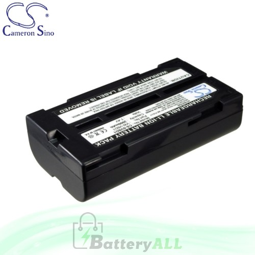 CS Battery for Panasonic NV-GS40B / NV-GS44 / NV-GS50AW Battery 2000mah CA-SVBD1