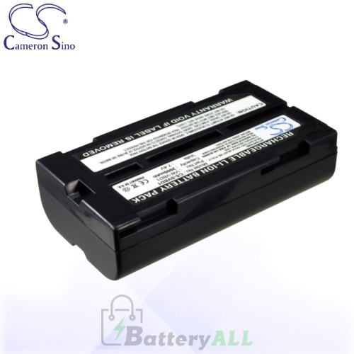 CS Battery for Panasonic CGR-B/202E1B / CGR-B/403 / CGR-B/814 Battery 2000mah CA-SVBD1