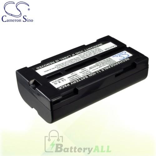 CS Battery for Panasonic NV-GS50V / NV-GS55 / NV-GS120K Battery 2000mah CA-SVBD1