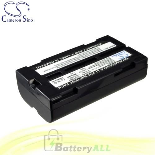 CS Battery for Panasonic NV-GS80EG-S / NV-GS80E-S / NV-GS85 Battery 2000mah CA-SVBD1