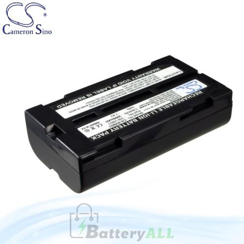 CS Battery for Panasonic NV-GS200GN / NV-GS200K / NV-GS230 Battery 2000mah CA-SVBD1