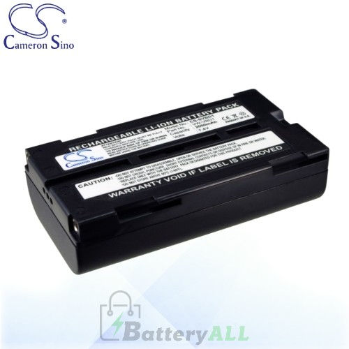 CS Battery for Panasonic VDR-D220EB-S / VDR-D220EG-S Battery 2000mah CA-SVBD1