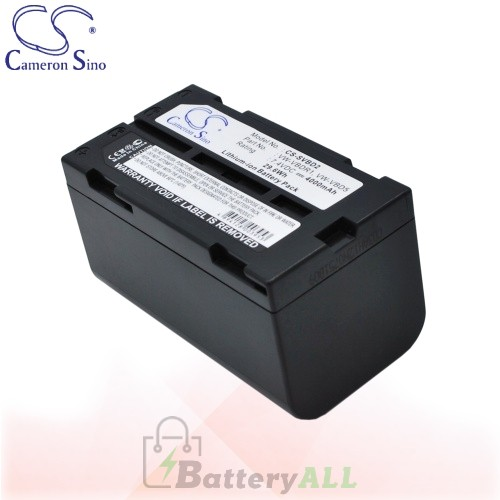 CS Battery for Panasonic PV-SD4090 / PV-SD5000 / ZG-EZ30U Battery 4000mah CA-SVBD2