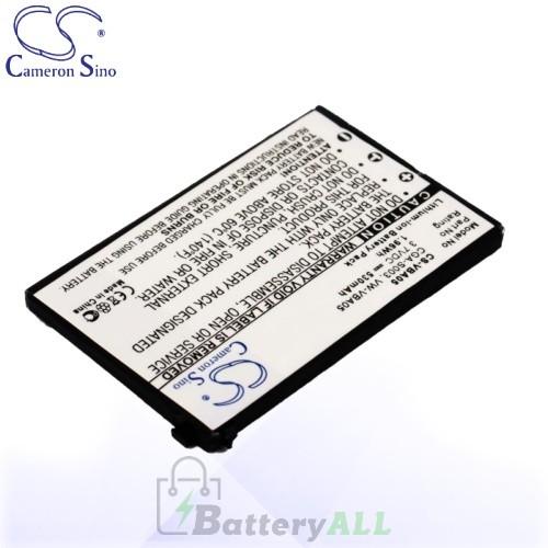 CS Battery for Panasonic CGA-S003E/ 1B / SV-AS10 / SV-AS10-A Battery 530mah CA-VBA05