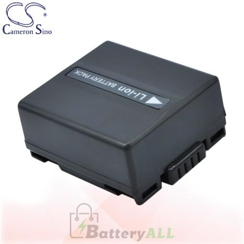 CS Battery for Panasonic NV-GS280 / NV-GS300 / NV-GS300E-S Battery 750mah CA-VBD070