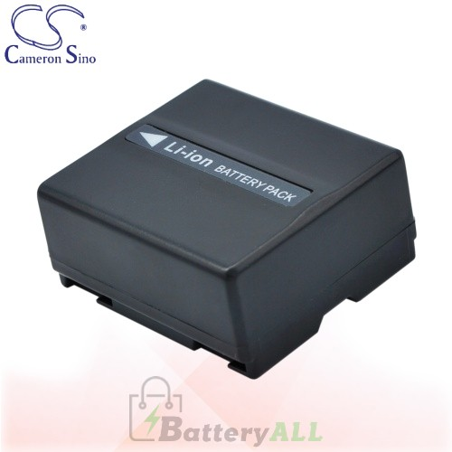 CS Battery for Panasonic NV-GS300EB-S / NV-GS300EG-S Battery 750mah CA-VBD070