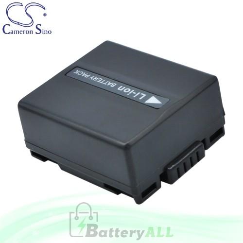 CS Battery for Panasonic NV-GS70 / NV-GS85 / NV-GS10 Battery 750mah CA-VBD070