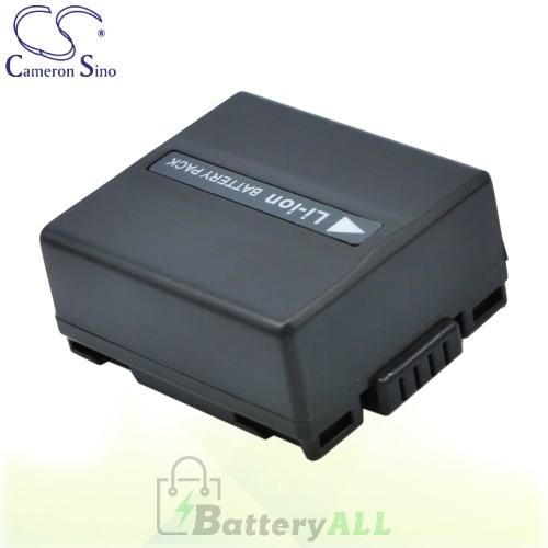 CS Battery for Panasonic NV-GS140EG-S / NV-GS140E-S / NV-GS33 Battery 750mah CA-VBD070