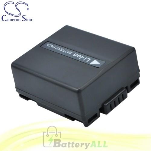 CS Battery for Panasonic NV-GS188GK / NV-GS188GK-S / NV-GS400 Battery 750mah CA-VBD070