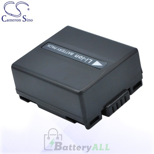 CS Battery for Panasonic CGA-DU07A/1B / VW-VBD060 / CGA-DU06S Battery 750mah CA-VBD070