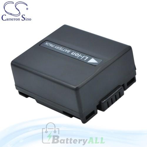 CS Battery for Panasonic NV-GS38GK / NV-GS400EG-S / NV-GS50K Battery 750mah CA-VBD070