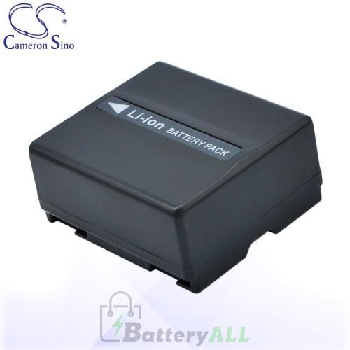 CS Battery for Panasonic NV-GS17EF-S / NV-GS27 / NV-GS27E-S Battery 750mah CA-VBD070