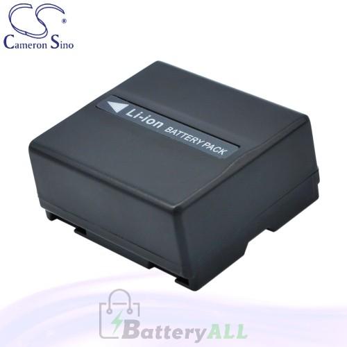 CS Battery for Panasonic NV-GS58GK / NV-GS58GK-S / NV-GS70A Battery 750mah CA-VBD070