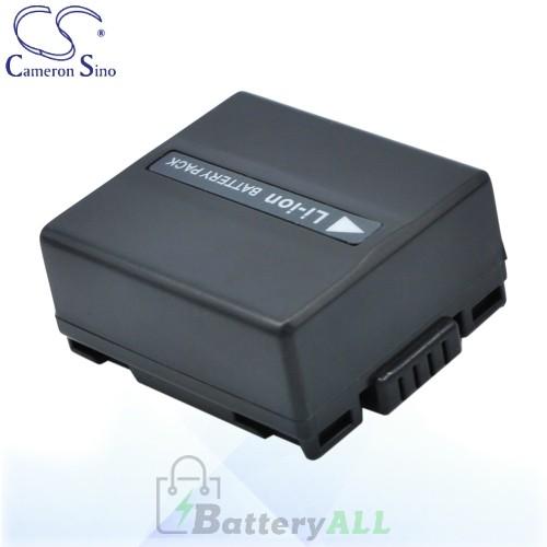 CS Battery for Panasonic VDR-D300 / VDR-D300EB-S / VDR-D308GK Battery 750mah CA-VBD070