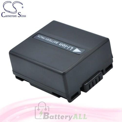 CS Battery for Panasonic NV-GS50 / NV-GS500 / NV-GS500EB-S Battery 750mah CA-VBD070