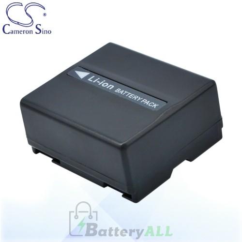 CS Battery for Panasonic SDR-H288GK / VDR-D100EB-S / VDR-D150 Battery 750mah CA-VBD070