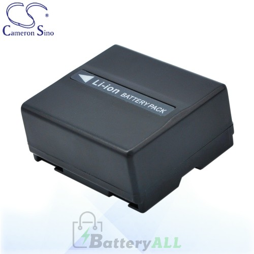 CS Battery for Panasonic VDR-D300 / VDR-D300EB-S / VDR-D308GK Battery 750mah CA-VBD070