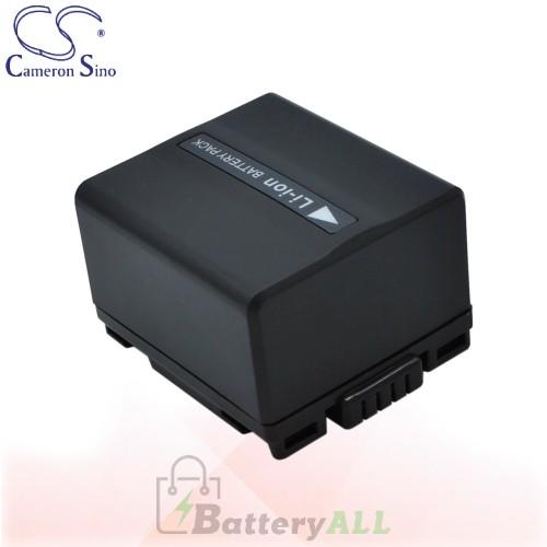 CS Battery for Panasonic NV-GS10 / NV-GS100K / NV-GS10B Battery 1050mah CA-VBD120