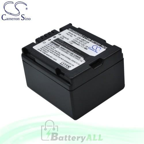 CS Battery for Panasonic NV-GS120EG-S / NV-GS120GN-S Battery 1050mah CA-VBD120