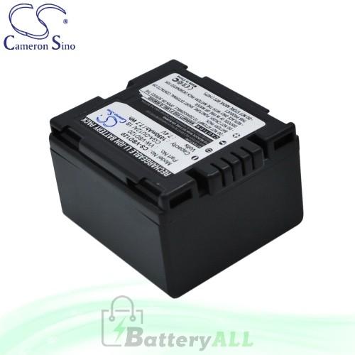 CS Battery for Panasonic NV-GS140 / NV-GS140EG-S / NV-GS150 Battery 1050mah CA-VBD120