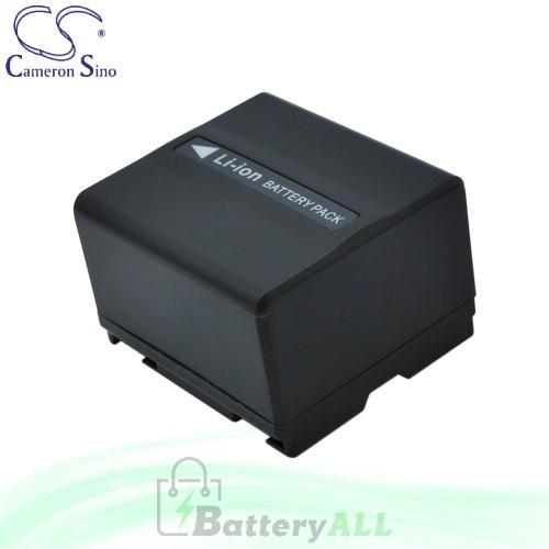 CS Battery for Panasonic NV-GS120K / NV-GS158GK / NV-GS180 Battery 1050mah CA-VBD120