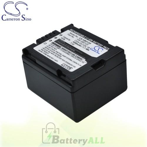 CS Battery for Panasonic NV-GS200EG-S / NV-GS21 / NV-GS22 Battery 1050mah CA-VBD120