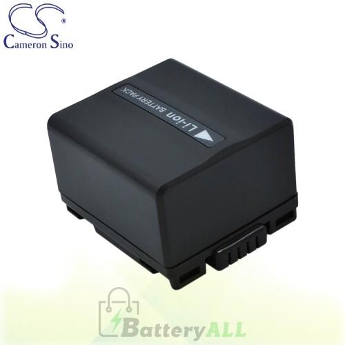 CS Battery for Panasonic NV-GS250 / NV-GS250B / NV-GS250EG-S Battery 1050mah CA-VBD120