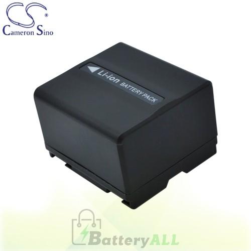 CS Battery for Panasonic NV-GS258GK / NV-GS280 / NV-GS28GK Battery 1050mah CA-VBD120