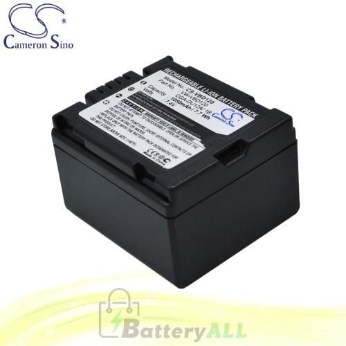 CS Battery for Panasonic NV-GS33 / NV-GS33EG-S / NV-GS35 Battery 1050mah CA-VBD120