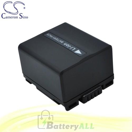 CS Battery for Panasonic NV-GS40 / NV-GS400 / NV-GS400K Battery 1050mah CA-VBD120