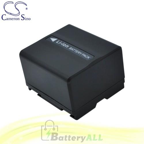 CS Battery for Panasonic NV-GS400EG-S / NV-GS400GN / NV-GS44 Battery 1050mah CA-VBD120