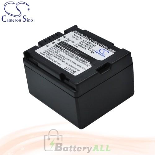CS Battery for Panasonic NV-GS50 / NV-GS500 / NV-GS50A Battery 1050mah CA-VBD120