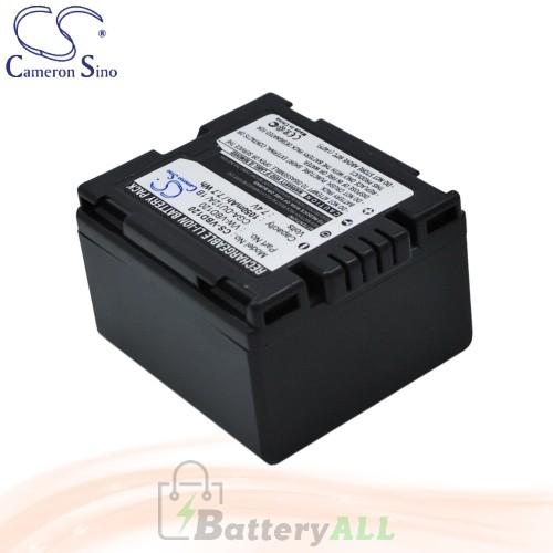 CS Battery for Panasonic NV-GS50A-S / NV-GS50B / NV-GS50K Battery 1050mah CA-VBD120