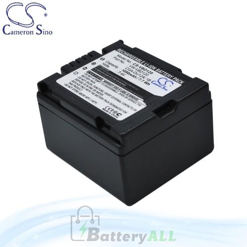 CS Battery for Panasonic NV-GS70B / NV-GS70K / PV-GS19 Battery 1050mah CA-VBD120