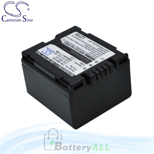 CS Battery for Panasonic NV-GS75 / NV-GS75B / NV-GS75EG-S Battery 1050mah CA-VBD120