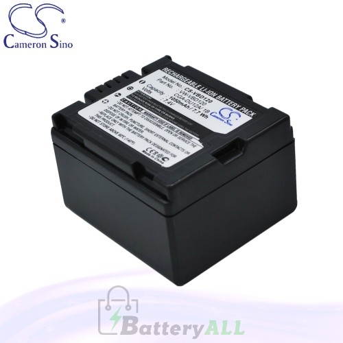 CS Battery for Panasonic PV-GS31 / PV-GS33 / PV-GS34 Battery 1050mah CA-VBD120