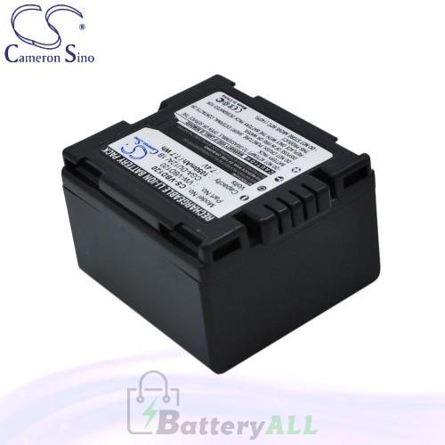 CS Battery for Panasonic PV-GS35 / PV-GS39 / PV-GS400 Battery 1050mah CA-VBD120