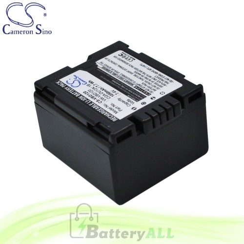 CS Battery for Panasonic VDR-D300 / VDR-D308GK / VDR-M30 Battery 1050mah CA-VBD120