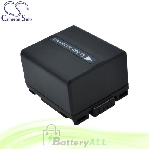 CS Battery for Panasonic VDR-M50 / VDR-M50B / VDR-M50EG-S Battery 1050mah CA-VBD120