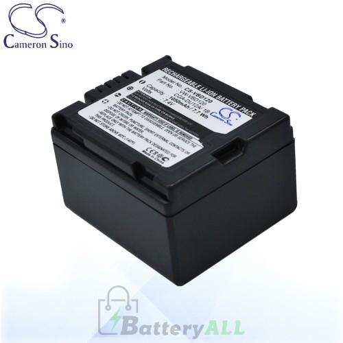 CS Battery for Panasonic VDR-M70K / VDR-M75 / VDR-M95 Battery 1050mah CA-VBD120